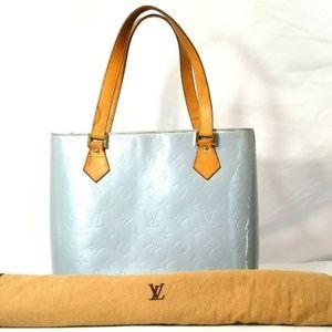 Louis Vuitton Peppermint Monogram Vernis Leather